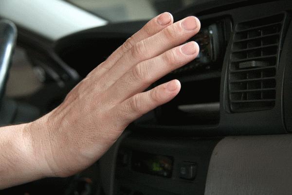 מיזוג אוויר לרכב